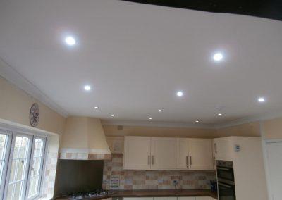 Repair Ceiling with Downlight